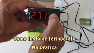 Como Instalar Termostato na Prática   Aula 29