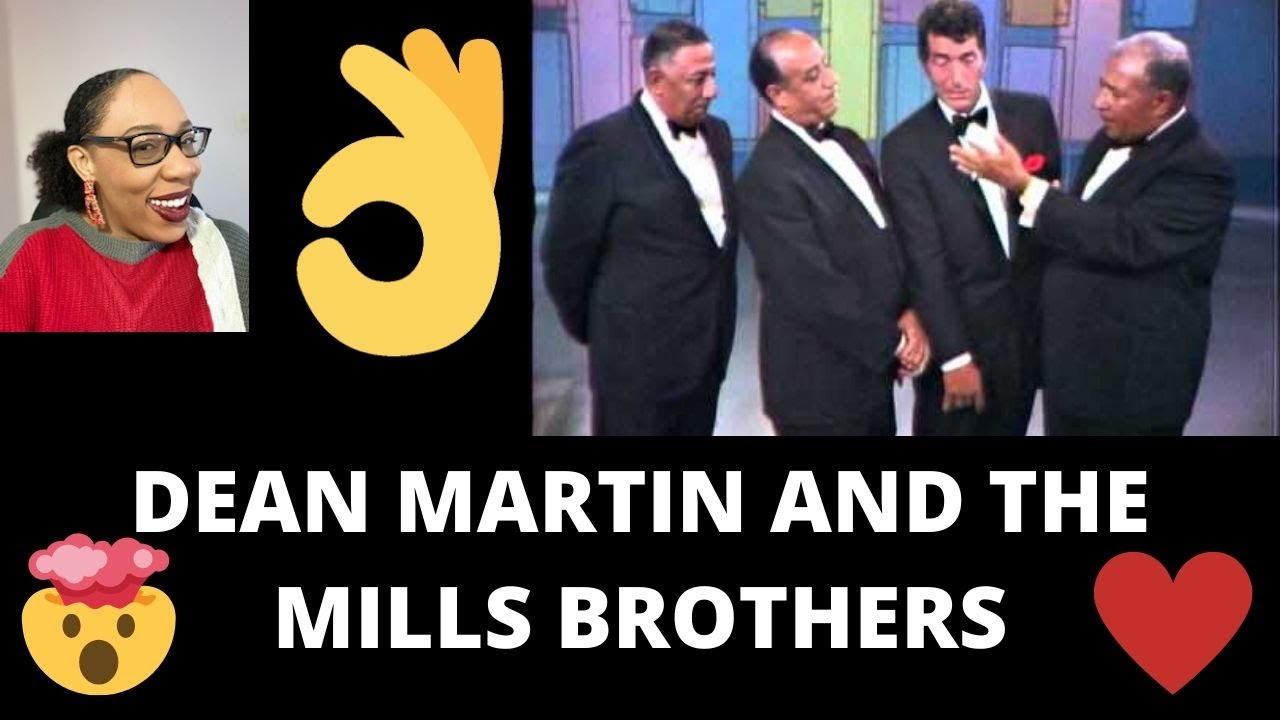 DEAN MARTIN AND THE MILLS BROTHERS - PAPER DOLLS (REACTION 2020)
