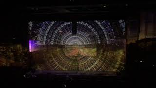 Clip #2 from Max Cooper#39s Yearning for the infinite AV event at Barbican 28 Sept 2019.