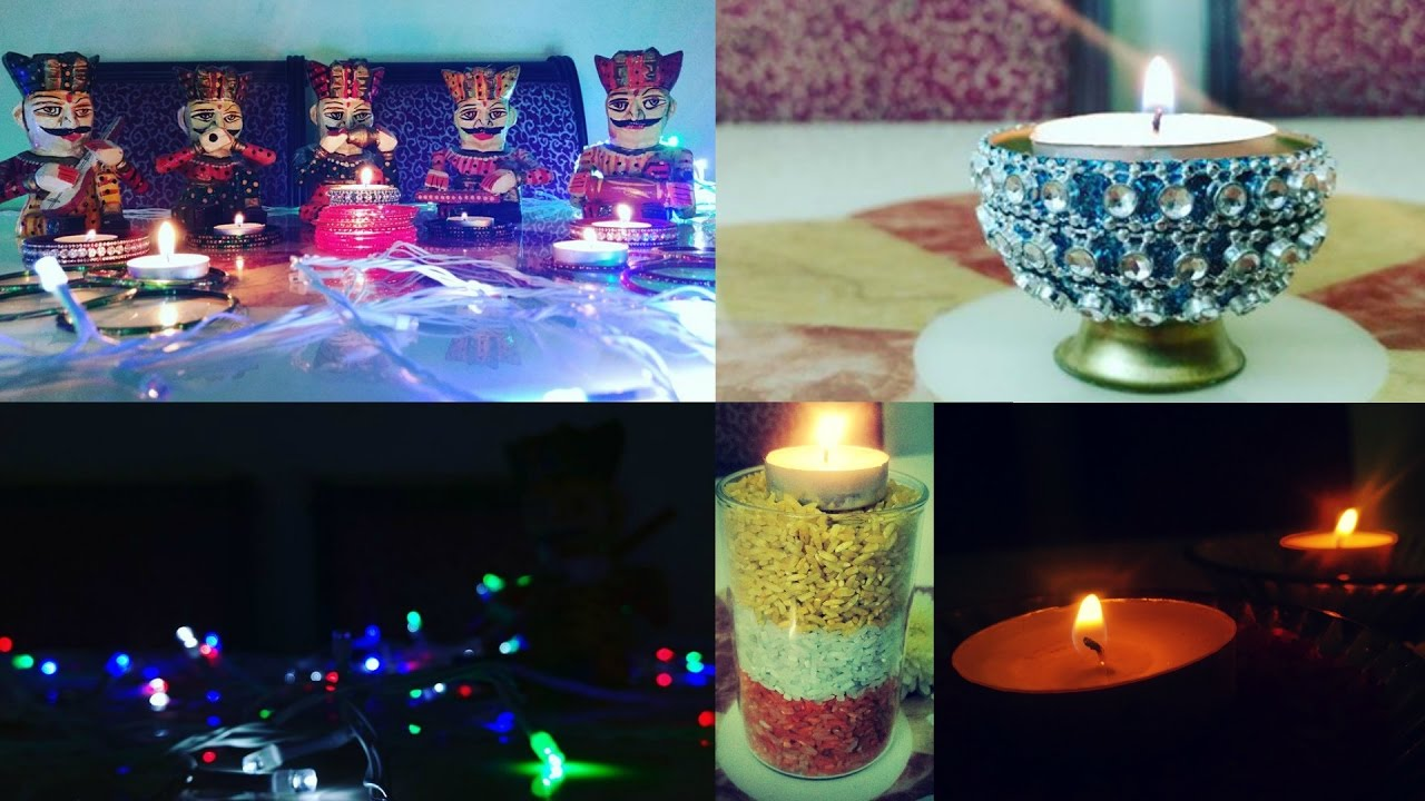 Simple And Quick Decoration Ideas For Indian Festival Diwali 2K17