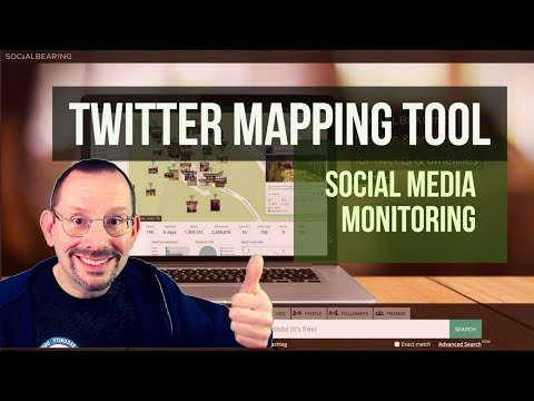 Twitter Mapping Tool Social Media Monitoring