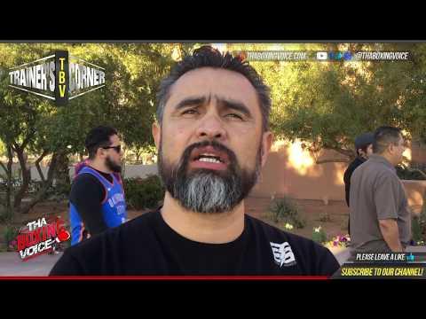 Manny Robles Sr. Previews Oscar Valdez vs Scott Quigg, Breazeale vs Winner of Wilder/Ortiz