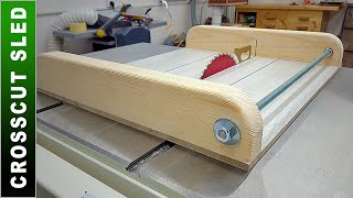 Simple Table Saw Jig - DIY Crosscut Sled - Table Saw Upgrade - Part 2