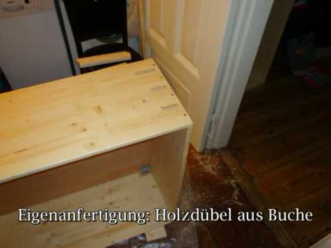 k che selber bauen mit led beleuchtung youtube. Black Bedroom Furniture Sets. Home Design Ideas