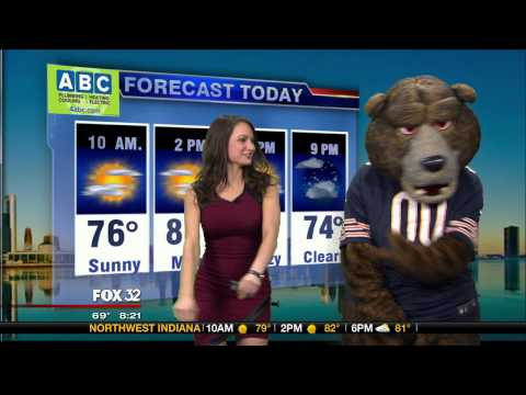 Jenny Milkowski Dance-Off With Staley Da Bear