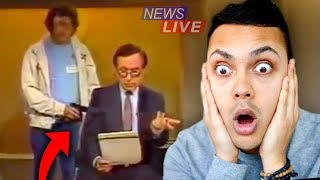 REACTING TO SHOCKING MOMENTS CAUGHT ON TV