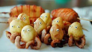 핫케익 가루로 만드는 초간단 미니핫도그 3종 :: 케릭…