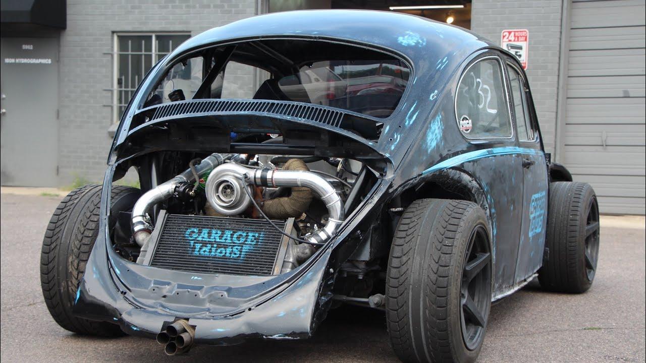 Download [ K20 Powered VW Bug ] RUSH TO DYNO DAY