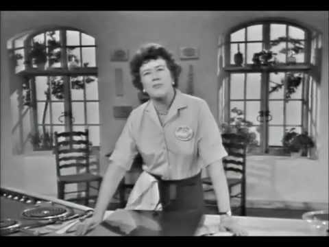 Julia Child French chef Croissants part 1