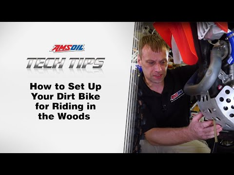 AMSOIL Tech Tips:  Dirt Bike Riding In the Woods