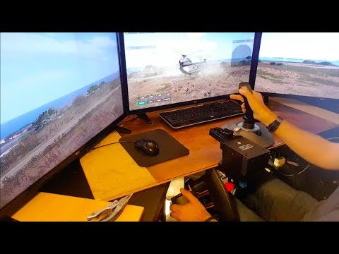 Easily build a realistic helicopter simulator with Arma 3