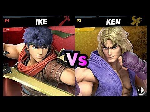 Ken [DD] vs Ike [Leso] • Super Smash Bros. Ultimate