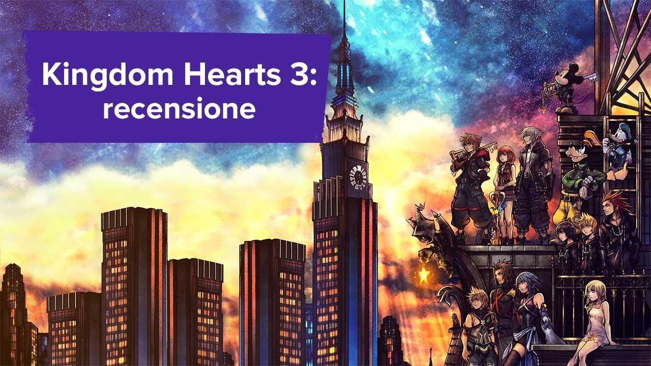 best prices 100% quality half off Kingdom Hearts 3 - recensione - YouTube