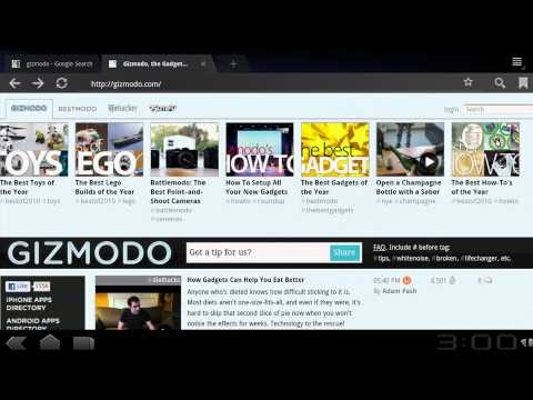 Browser: First Look: T-Mobile G-Slate with Google by LG