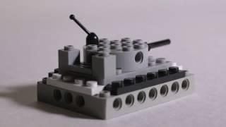 Как сделать Lego Танк HD(Изготовление простого танка из деталей конструктора Lego., 2016-11-27T20:27:02.000Z)