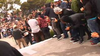 Cody McEntire Back Bigspin and Chris Cole Switch Frontside Flip 2009 Back to the Berg Wallenberg