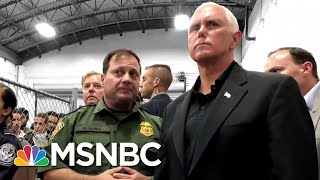 VP Pence Visits Crowded Migrant Center   The Day That Was