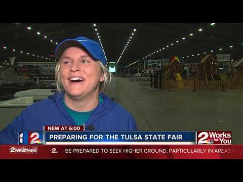 Staff prepares for Tulsa State Fair