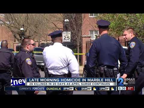 Baltimore suffers 26th murder in 20 days