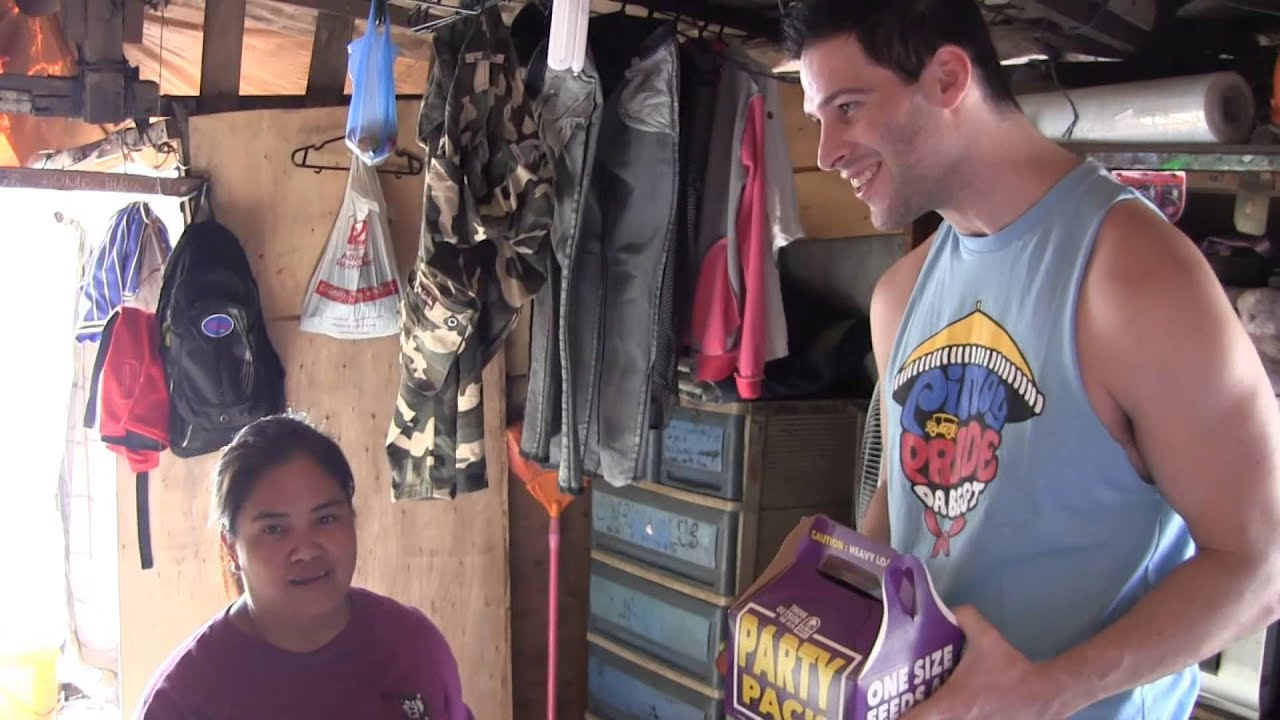 Travis Kraft Returns To Philippines Squatters Area And It