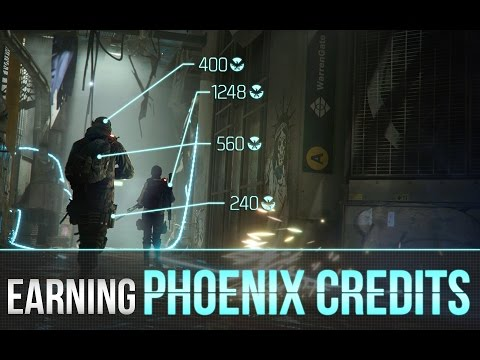 The Division™ - How To Earn Phoenix Credits Easily (Top 10 Best Strategies)