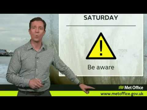 Storm Brian has arrived (UK weekend forecast)