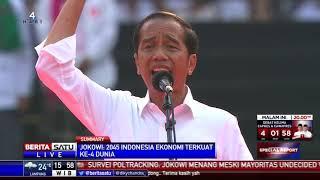 Pidato Jokowi Saat Kampanye Akbar di GBK