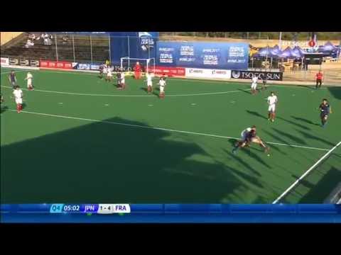 Japan vs France hero hockey world league Q4