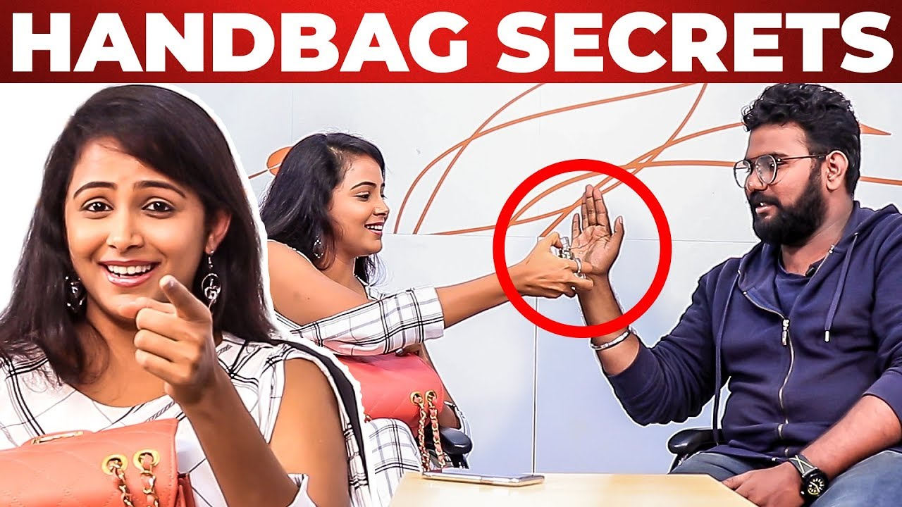 Tissue Inside Subiksha S Handbag