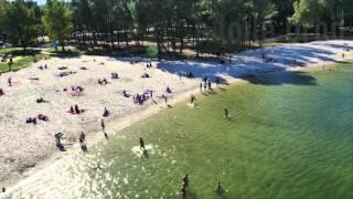 bordeaux lac plage