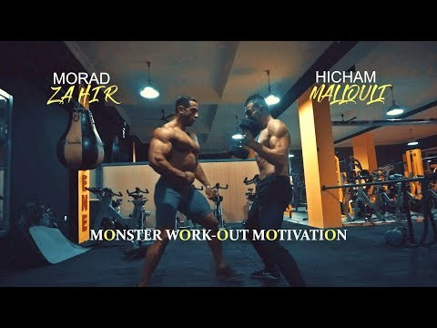 Monster Workout Motivation - Hicham Mallouli & Morad Zahir - Bodybuilding & Fitness
