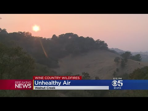 Smoke From North Bay Fires Creating Unprecedented Levels Of Unhealthy Air