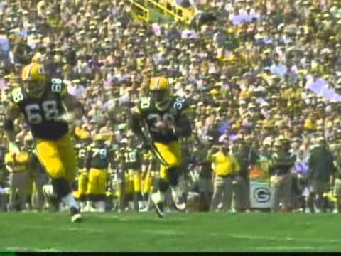 Ahman Green Packer Highlights video 2