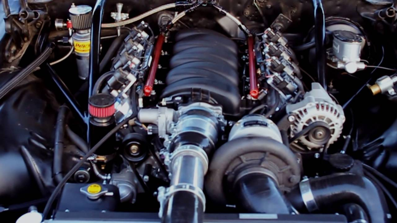 1975 Chevrolet Camaro with supercharged LSX 427 - YouTube
