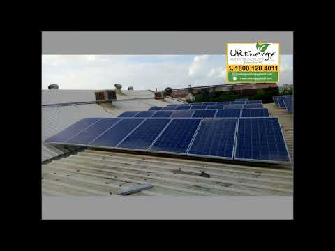 98 KW Commercial Solar Panel Project - U R Energy