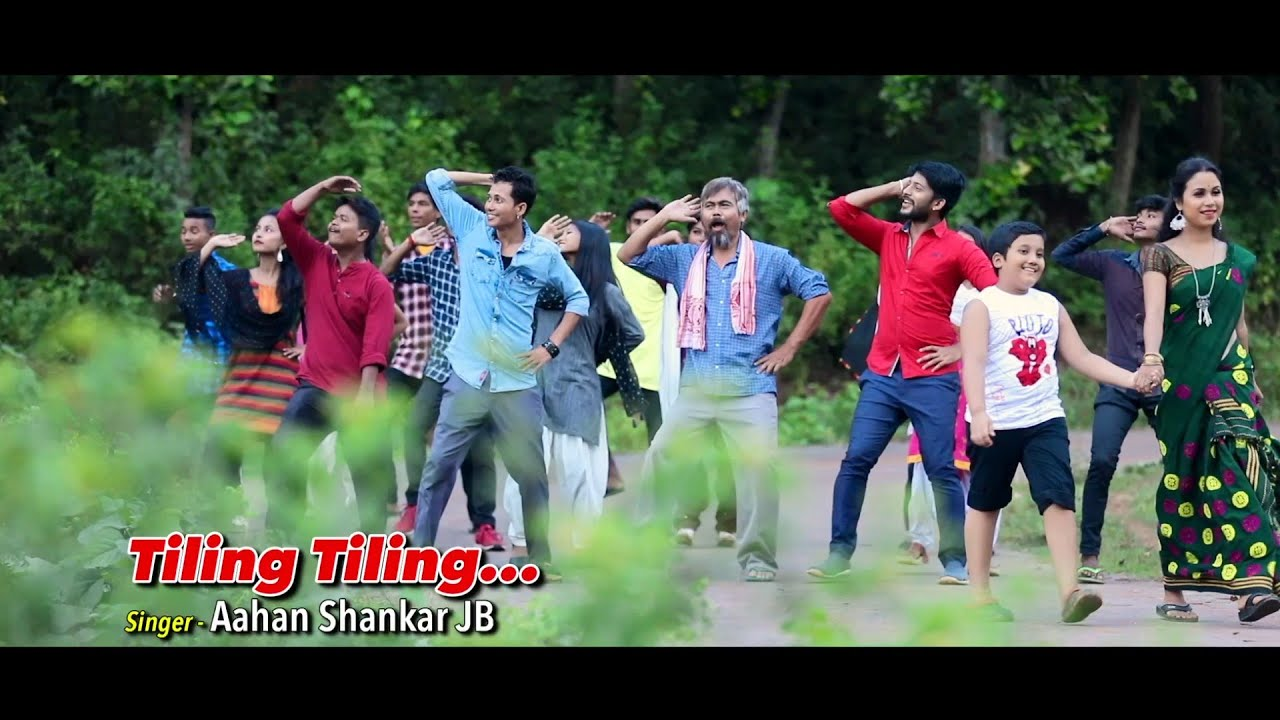 Tiling Tiling | Aahan Shankar JB | Official Video | Latest Assamese Song 2019