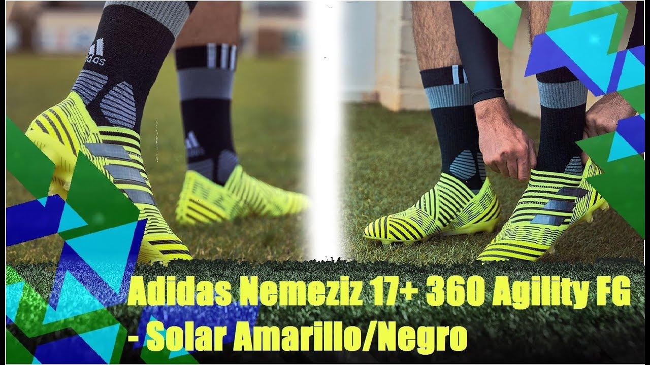 new style 16b8c 6ead1 ... BOOTPACK Adidas Nemeziz 17+ 360 Agility FG - Solar AmarilloNegro retail  prices b88a9 8d806 ...