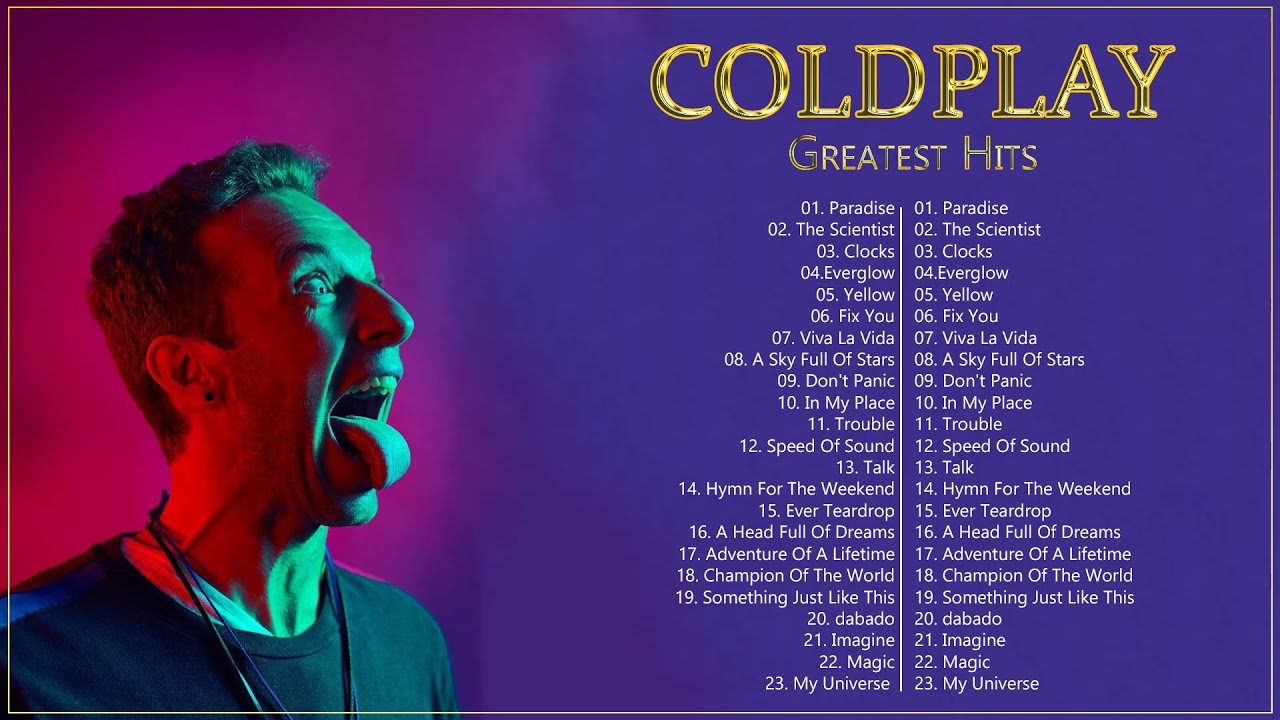 Coldplay Greatest Hits    The Best Of Coldplay Playlist 2022