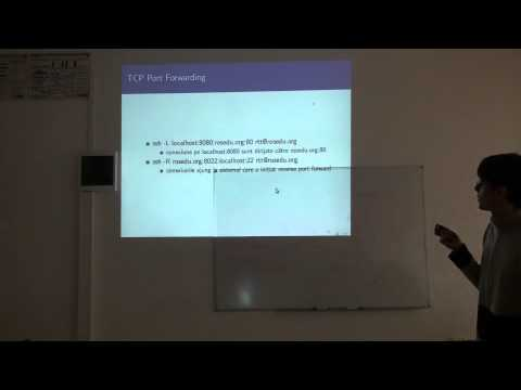 ROSEdu Tech Talks - RTT02: Secure Shell