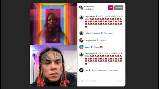 [FULL] Tekashi 6ix9ine & Nicki Minaj Live On INSTAGRAM