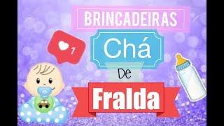 5 Brincadeiras para CHÁ de FRALDA/BEBÊ