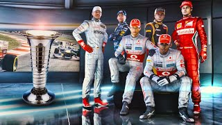 F1 2012 Champions Mode - Who is the Greatest Driver of All?