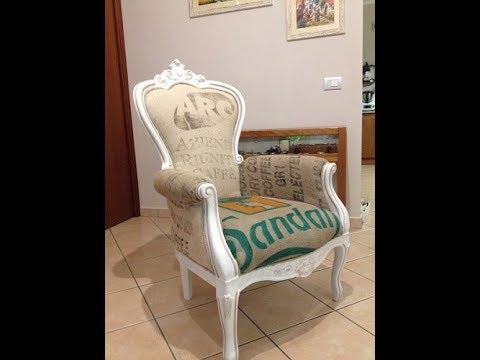 Sedie ristrutturazione restauro doovi - Foderare cuscino divano ...