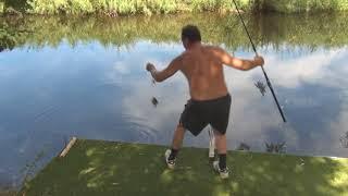 Были на рыбалке на нашем рыболовном участке,поймали не много рыбы для ухи