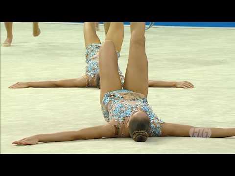 2017 Rhythmic Worlds, Pesaro (ITA) – Russia : 6 out of 6 !