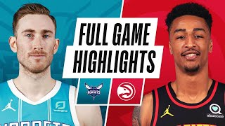 HORNETS at HAWKS | FULL GAME HIGHLIGHTS | January 6, 2021
