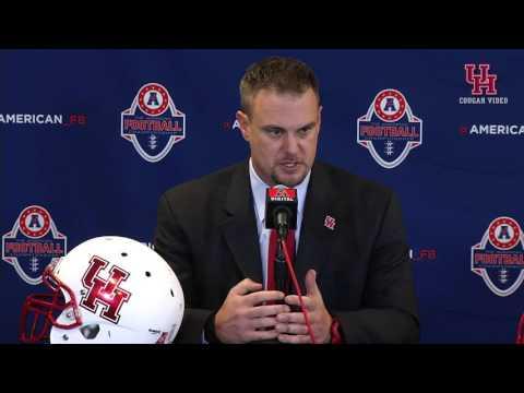 Tom Herman - American Football Championship Pregame Press Conference