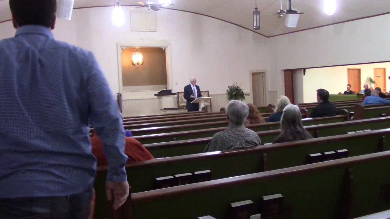 4th Street Church of Christ Auditorium Class 12/20/20