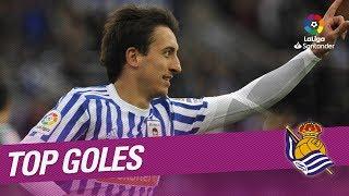 TOP Goles Real Sociedad LaLiga Santander 2017/2018