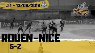 Hockey : Rouen - Nice Ligue Magnus 2019/2020 J01